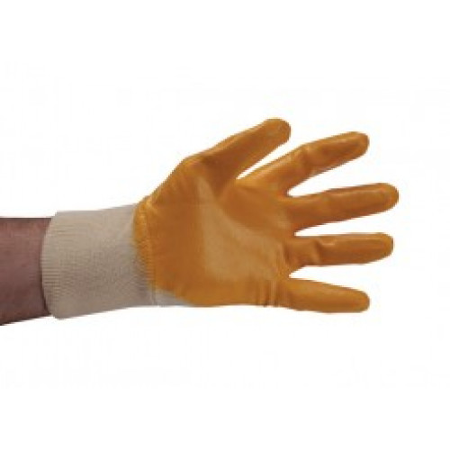 Nitrile coated grip glove