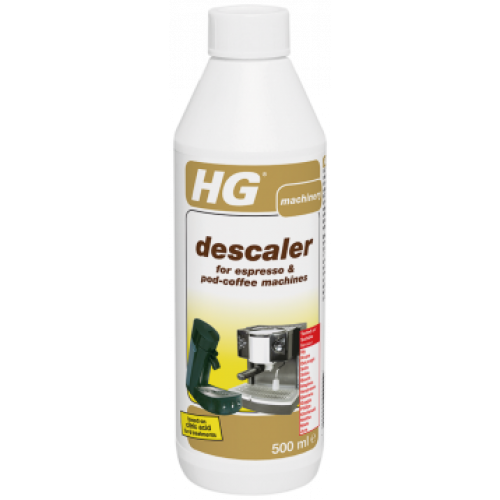 Descaler for coffee machines