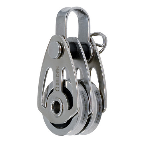 Selden HLBBB25 Double Clevis Pin & Strap Block