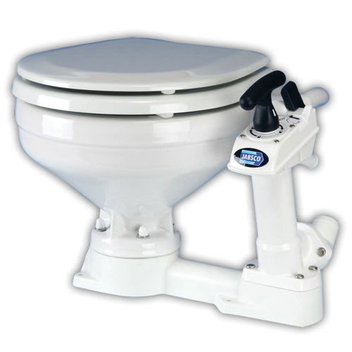 Jabsco Twist 'N' Lock Regular Bowl Toilet