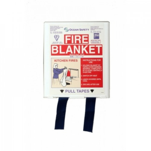 Fire Blanket - Compact - 1.1m x 1.1m