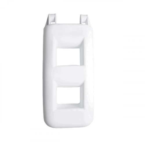 2 Step Fender Ladder - White