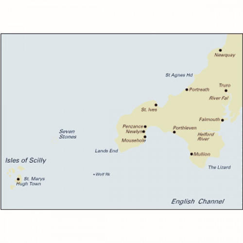 C7 Falmouth to Isles of Scilly & Newquay