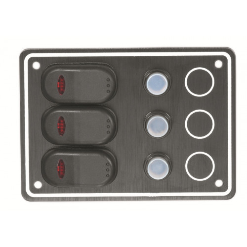 AAA - Waterproof 3 Switch Panel