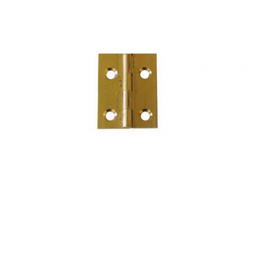 Budget Brass Butt Hinge - 35mm x 21mm