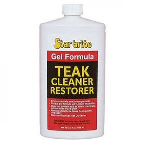 Starbrite 28Fl Oz Teak Cleaner Gel