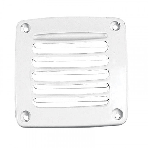 Square Plastic Vent Shaft Grilles cover - Size 92mm x 92mm