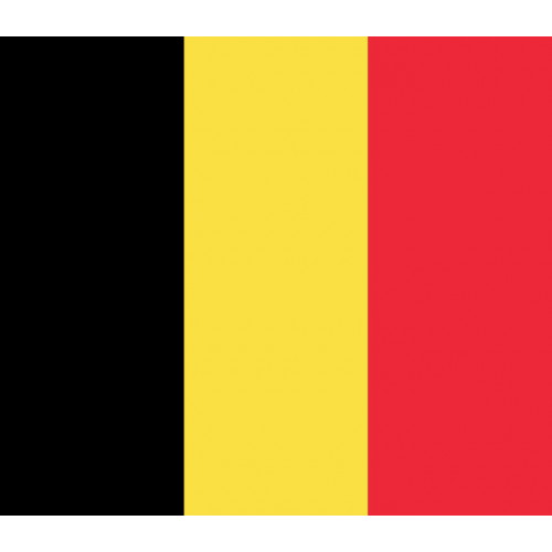Belgium Courtesy Flag
