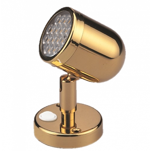 Brass Reading Light
