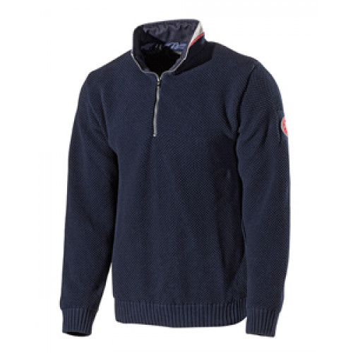 Holebrook Classic Navy Knit Jumper