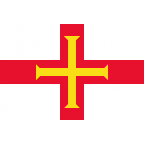 Guernsey Courtesy Flag