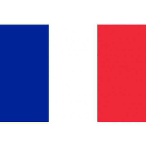 France Courtesy Flag