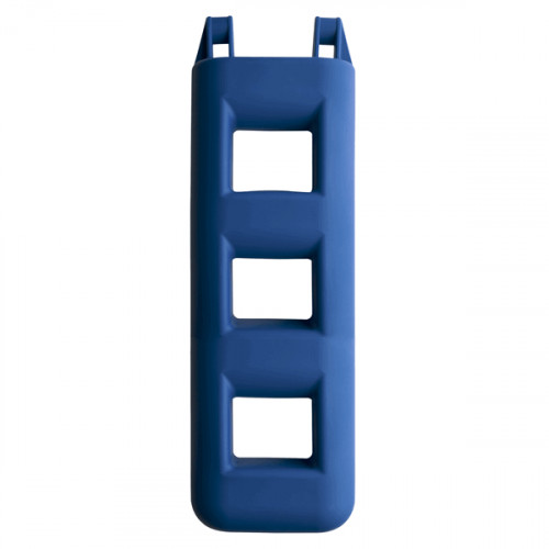 3 Step Fender Ladder - Blue