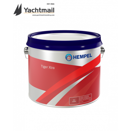 Hempel Tiger extra Antifouling 2.5L (NEW TIN DESIGN)