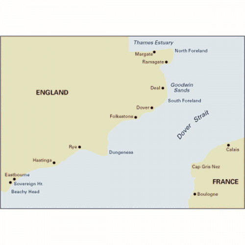 C8 Dover Strait - North Foreland to Beachy Head and Boulogne