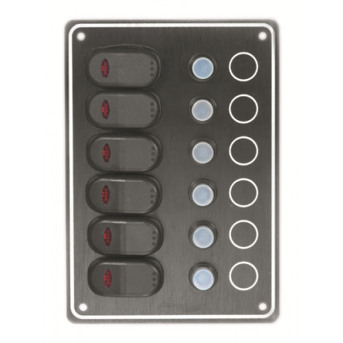 AAA - Waterproof 6 Switch Panel