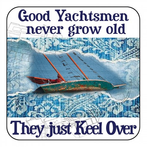 "Copy of Yachtmail ""Salty Sayings"" Coaster - Good Yachts"