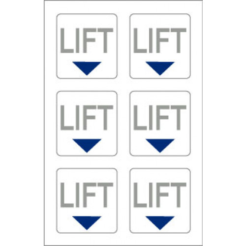 Marine Safety Stickers Lift