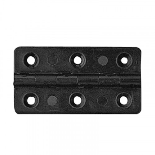 rectangle black plastic hinge