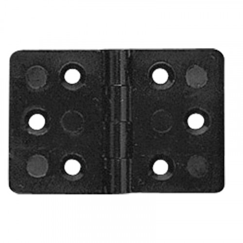 Rectangular black hinge