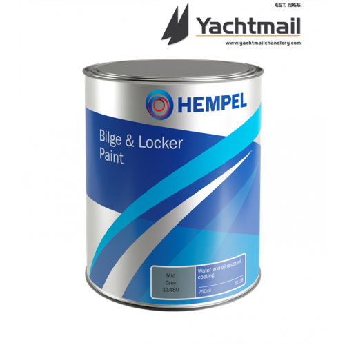 Hempel Bilge and Locker Paint 750ml