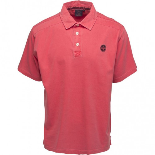 Sea Ranch Short Sleeved Polo (CHRIS) - (SR Red) - FRONT