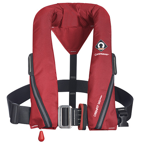 Crewsaver Manual - Harness - Crewfit Sport 165N