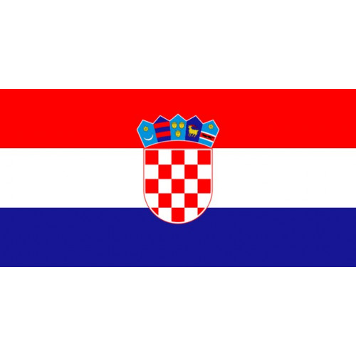 Croatia Courtesy Flag