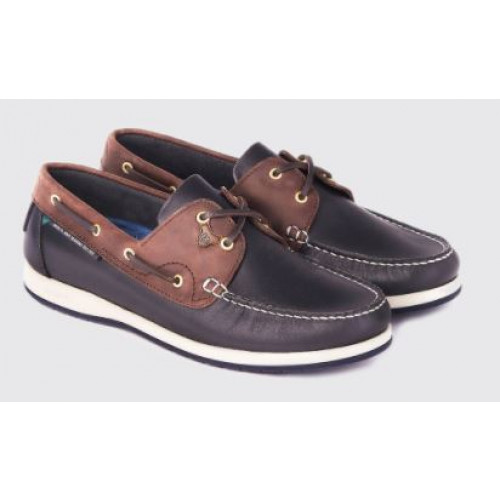 Dubarry Sailmaker XLT Mens Deck Shoe - Navy/Brown