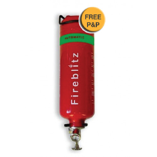 Auto Clean agent (GTFE) 2kg - fire extinguisher