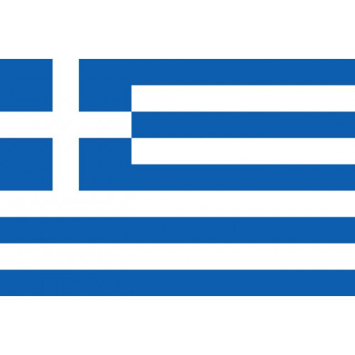 Greece Courtesy Flag