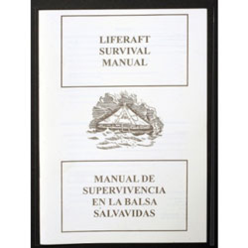 Liferaft Survival Manual (W/Proof) A5