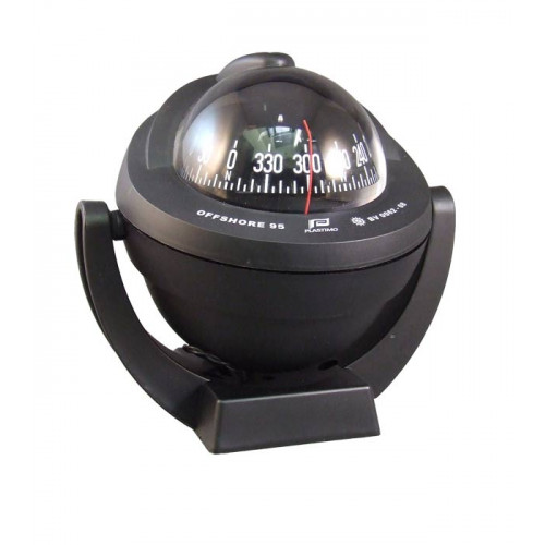 Plastimo Offshore 95 Compass - Black