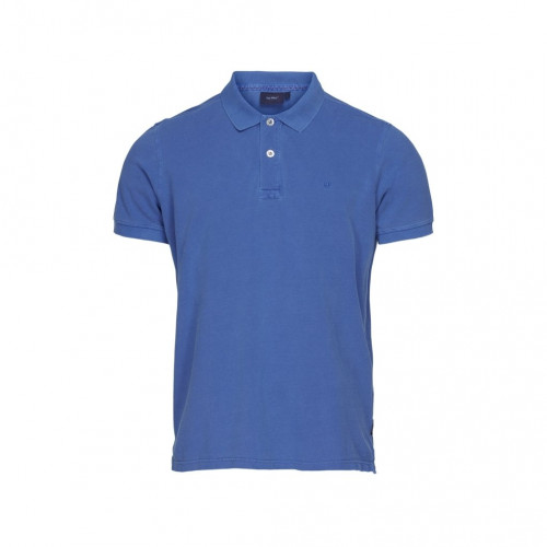 Sea Ranch of Denmark - Men's Short Sleeved Polo (ANDRE) - (Bright Blue)- FRONT