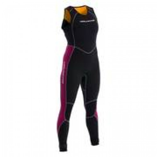 Women's Neil Pryde - Elite 3MM Firewire Long John - Black/Plum