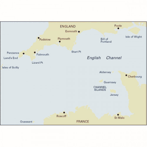 C10 Western English Channel Passage Chart