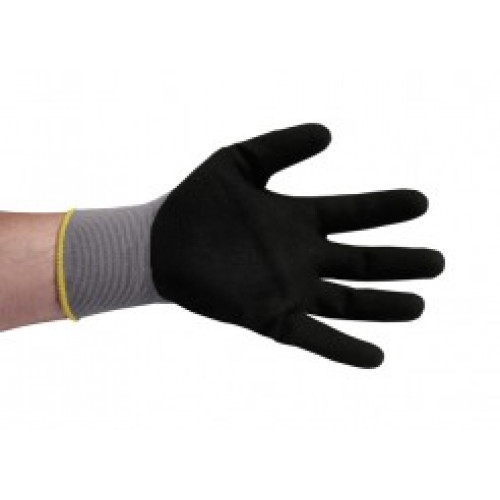 Nitrile Foam coated glove