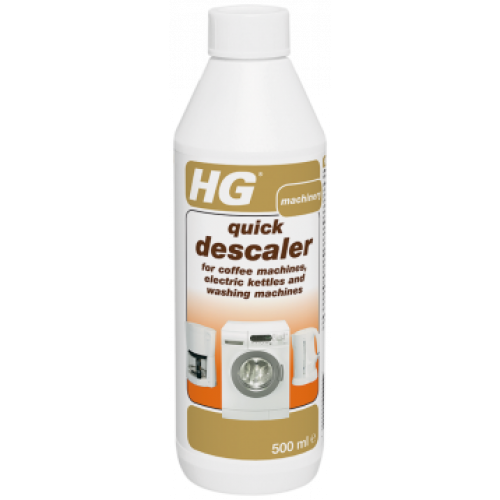 HG Quick Descaler for coffee machines, electric kettles & washing machines - 500ml