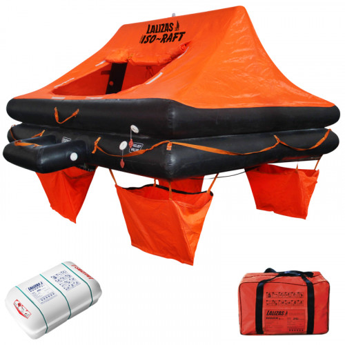 LALIZAS Liferaft ISO 4-12 Persons With Canopy