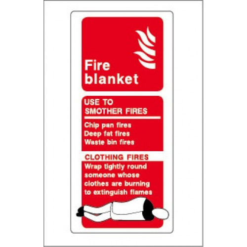 Yachtmail Safety Sticker Fire Blanket