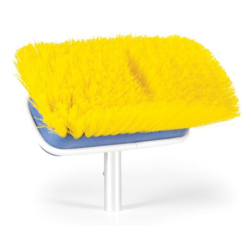 Camco Yellow Medium Deck Brush - For Textured Surfaces