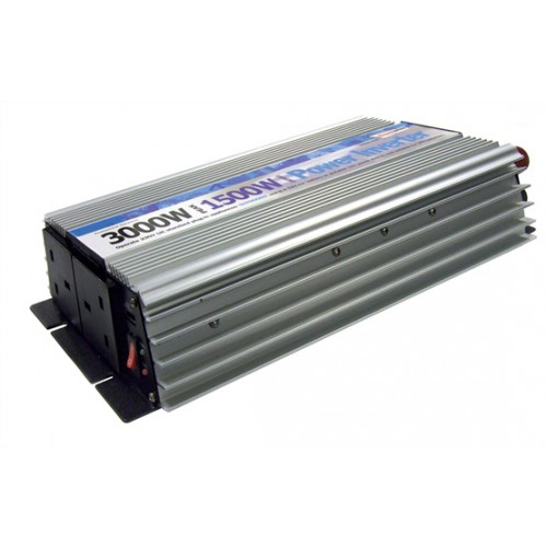 1500 Watt Inverter - ideal for boats, cars, trucks, and motor-homes.