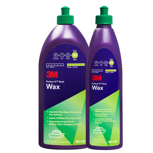 3M 'Perfect-It' Boat Wax 473ml