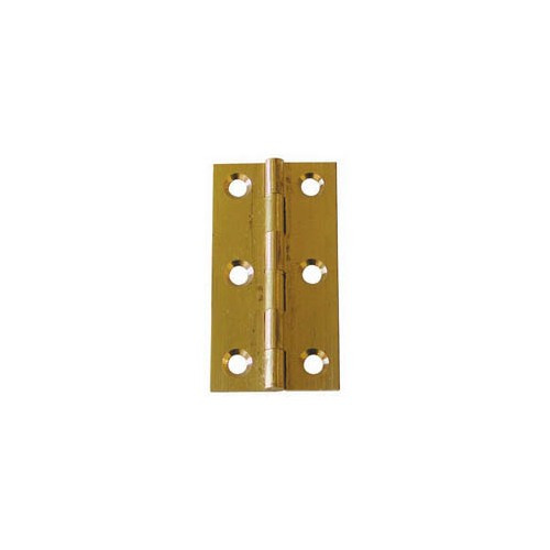 Budget Brass Butt Hinge - 64mm x 35mm