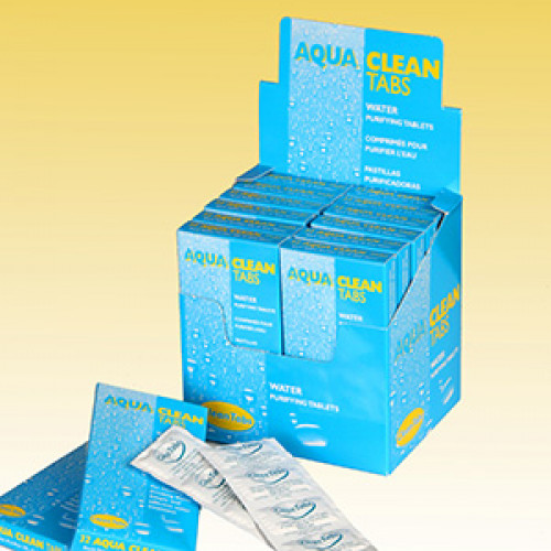 Aqua Mini Tabs - Water Purifying Tablets (40 tablets)