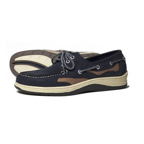 Apache Moose Navy Ketch Deck Shoe