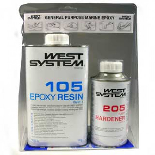 West System Epoxy Kit 105 A - 1.2KG
