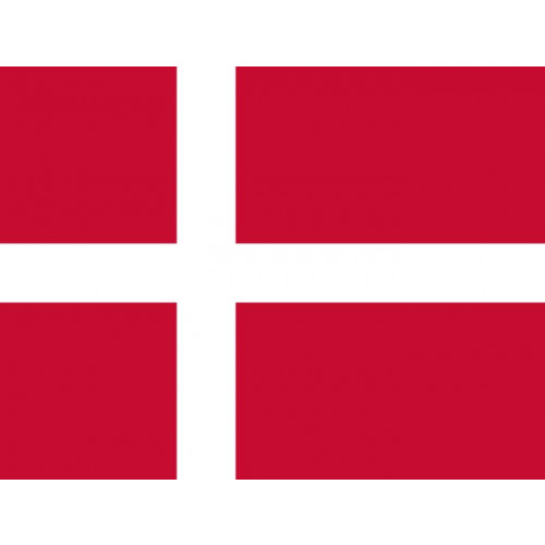 Courtesy Flag - Denmark