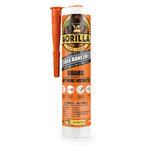 290ml Gorilla Glue Heavy Duty Grab Adhesive - Grabs Virtually Anything Instantly!