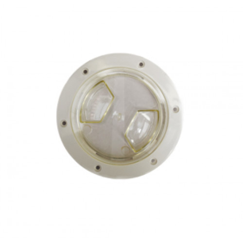 "Yachtmail Inspection Hatch 6"" White/Clear"